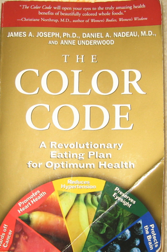 The Color Code Food Book | Coloring Pages